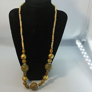 Jewelry - Wooden Bead Necklace